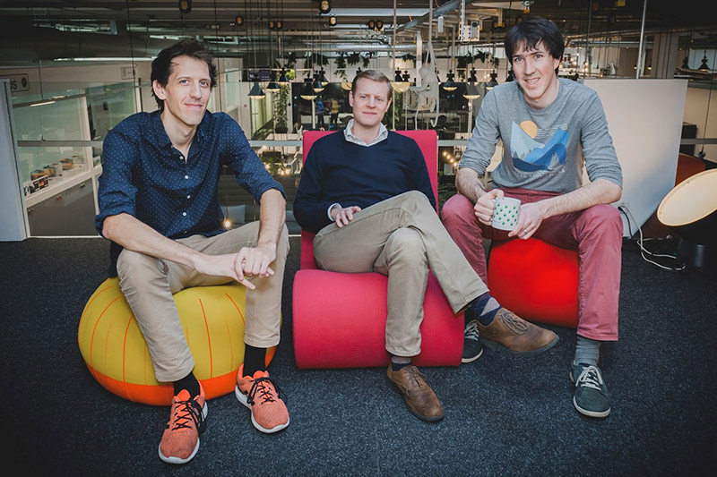 Les fondateurs du comparateur de frais d'envoi d'argent à l'étranger, une start-up suisse