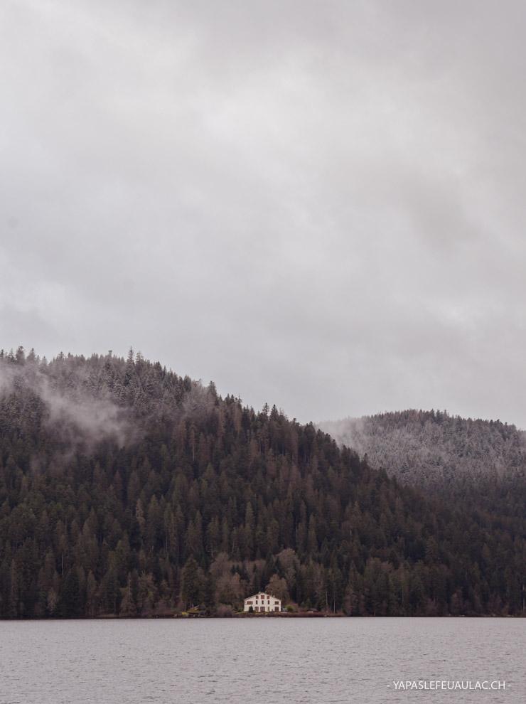 Le tour du lac de Gérardmer dans les Vosges