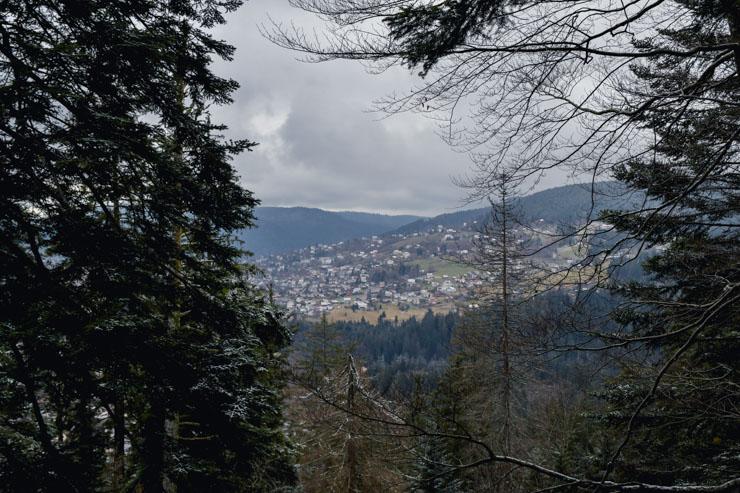 Randonnée Vosges: le parcours au départ de Gérardmer sur le blog