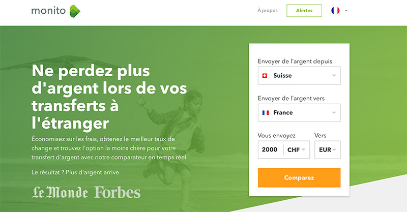 Transfert d'argent à l'étranger: comparer les frais pour économiser