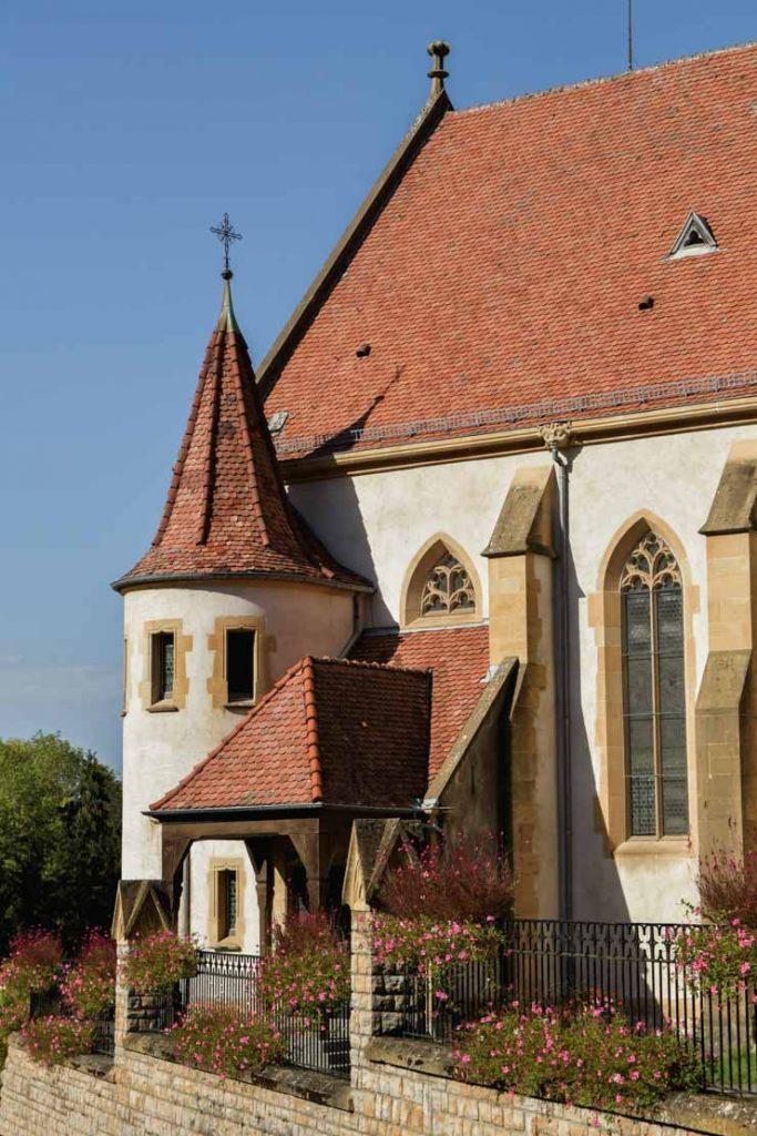 Eglise de Ferrette - Tourisme en Alsace