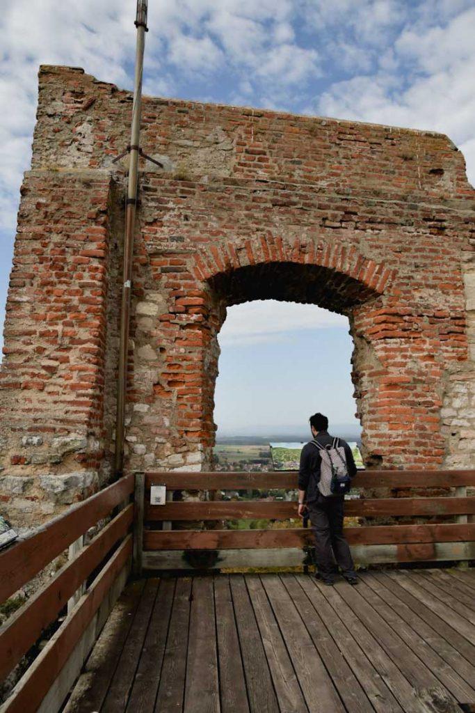 Le château de Ferrette dans le Sundgau