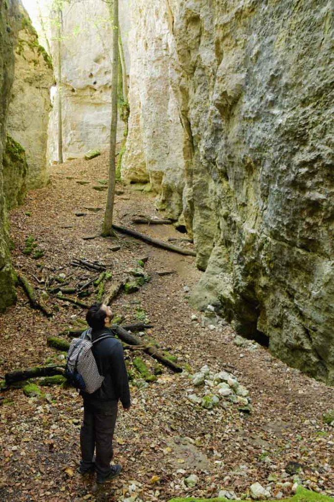 Randonnée de la Grotte des Nains dans le Sundgau en Alsace