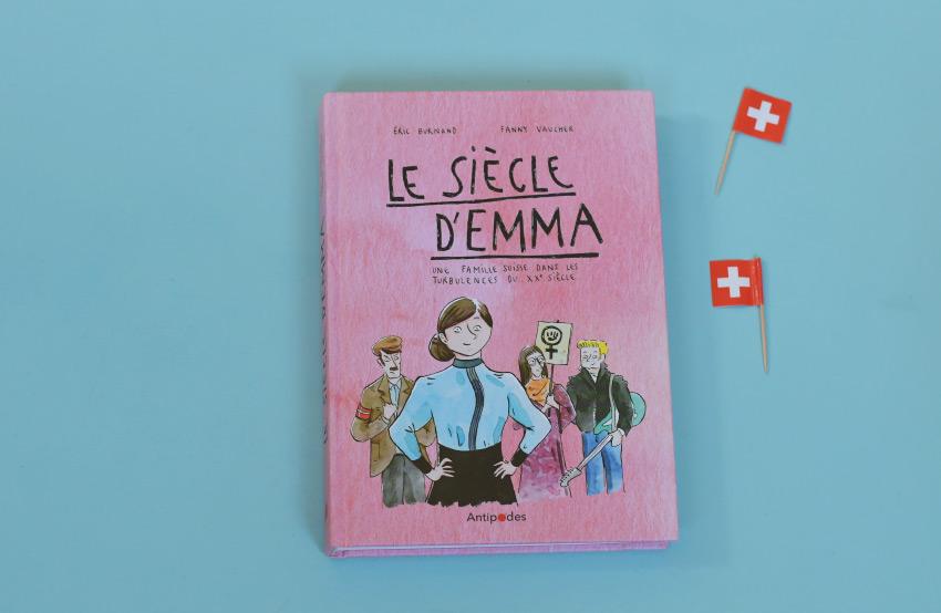 BD histoire suisse: le siècle d'Emma