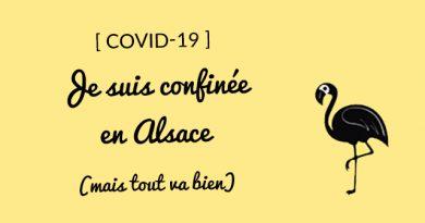 Confinement en France: comment ça se passe pour moi en Alsace