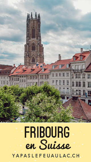 Balade pour visiter Fribourg en Suisse