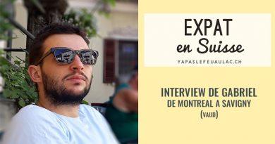 Un expat québécois en Suisse: interview sur le blog Yapaslefeuaulac