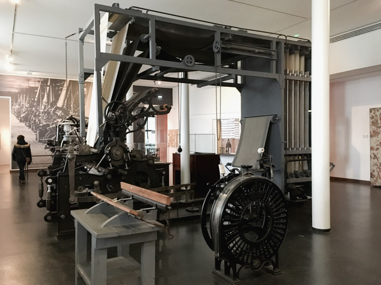 Visiter Mulhouse, Musée de l'Impression sur Etoffes
