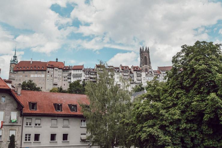 Une ville à deux niveaux - Freiburg en Suisse