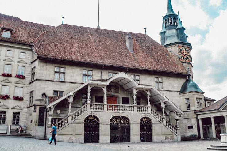 L'hôtel de ville de Fribourg - Voyager en Suisse