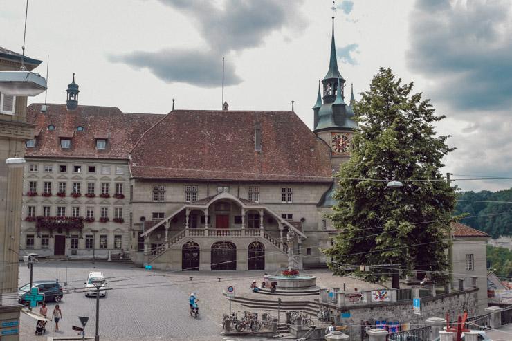 L'hôtel de ville de Fribourg