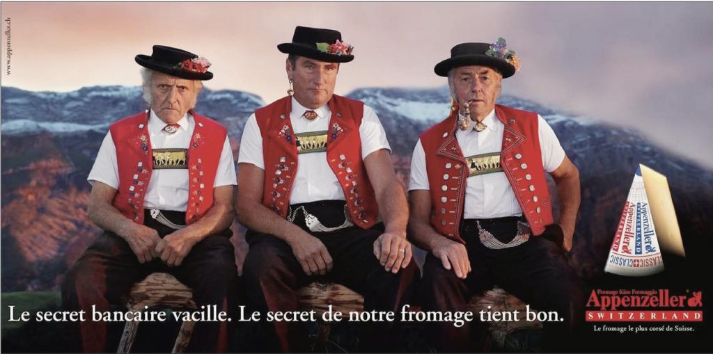 Le secret bien gardé du fromage Appenzeller - Pubs suisses culte