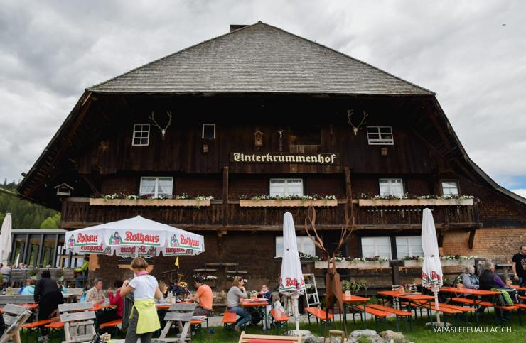 Adresse: l'auberge du Schluchsee Vesperstube Unterkrummenhof