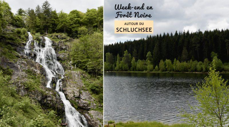 Escapade en Forêt Noire du Sud: deux balades au Schluchsee et à la chute d'eau de Todtnau