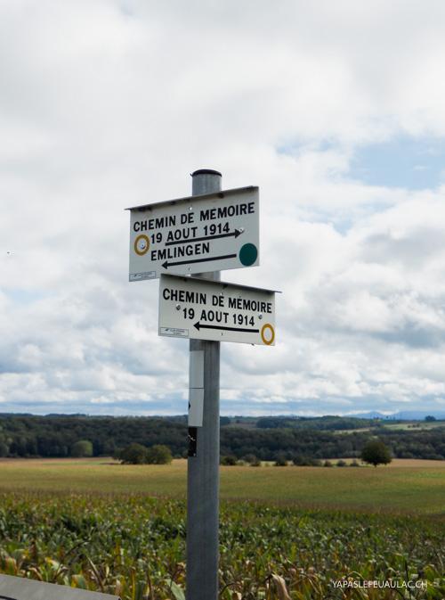 Tourisme de mémoire en Alsace et Lorraine