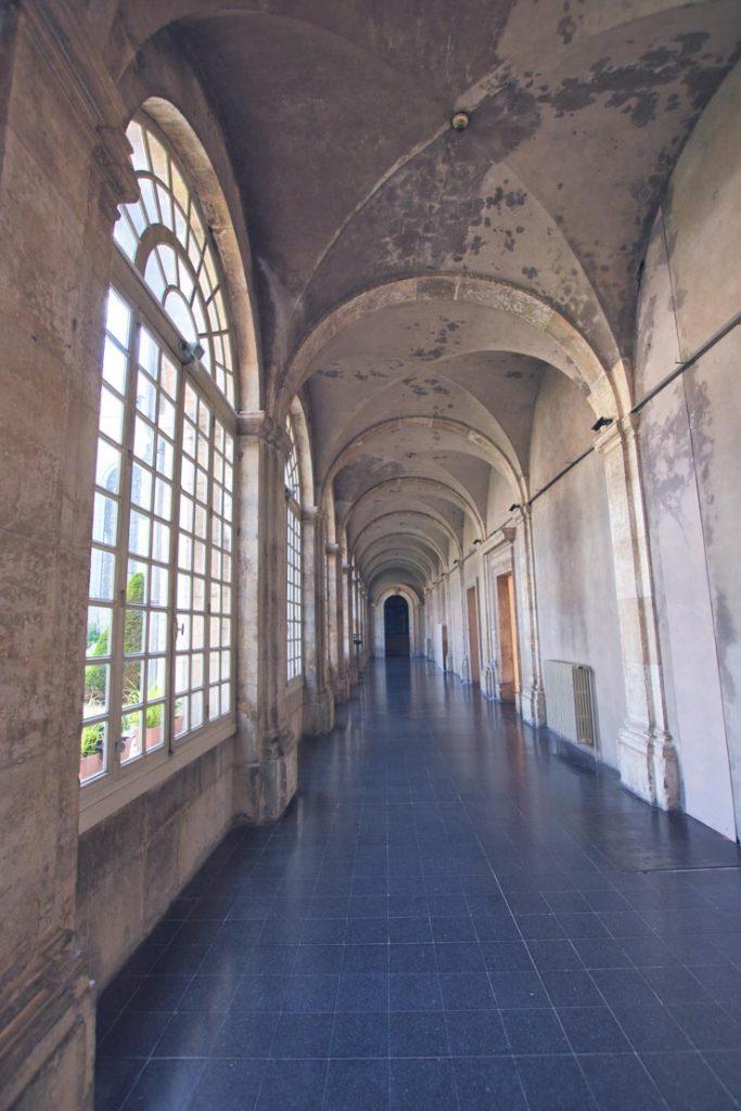 Les couloirs de l'abbaye des Prémontrés en Lorraine - Blog d'escapades autour de Nancy