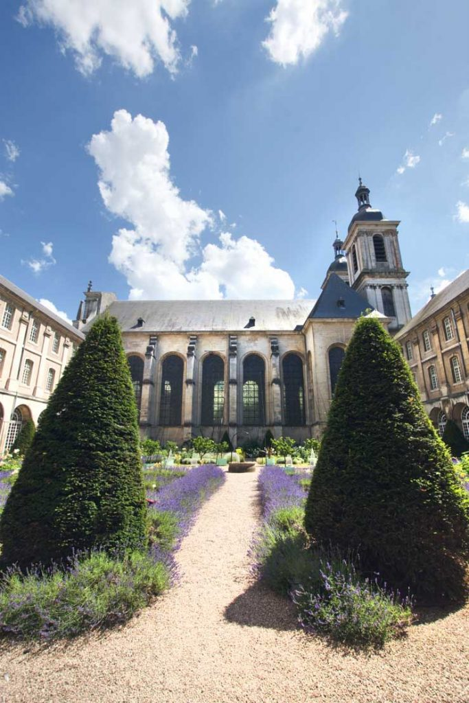 Jardin des Senteurs à l'abbaye des Prémontrés en Lorraine