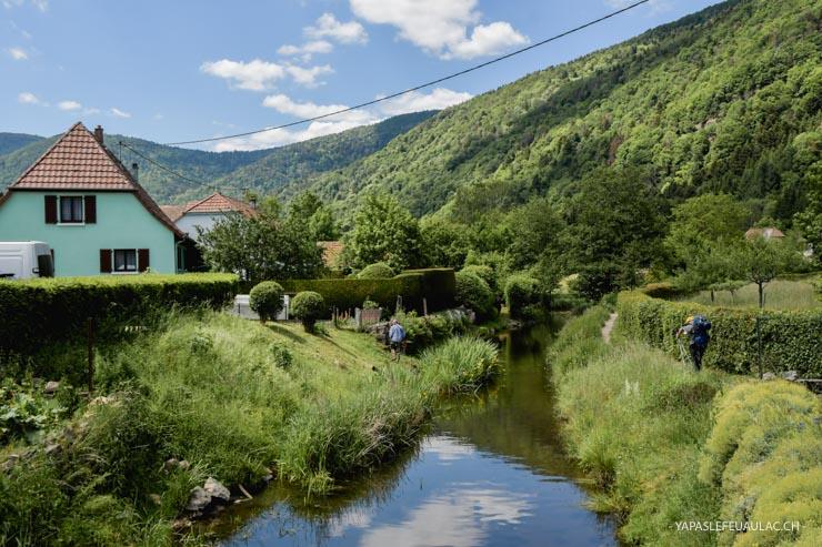 Le village de Sewen - balade au pied du Ballon d'Alsace