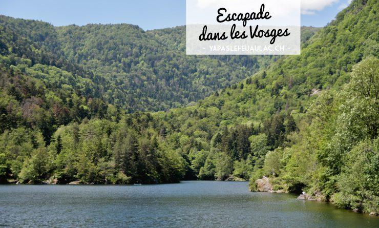 Au Lac d'Alfed dans les Vosges