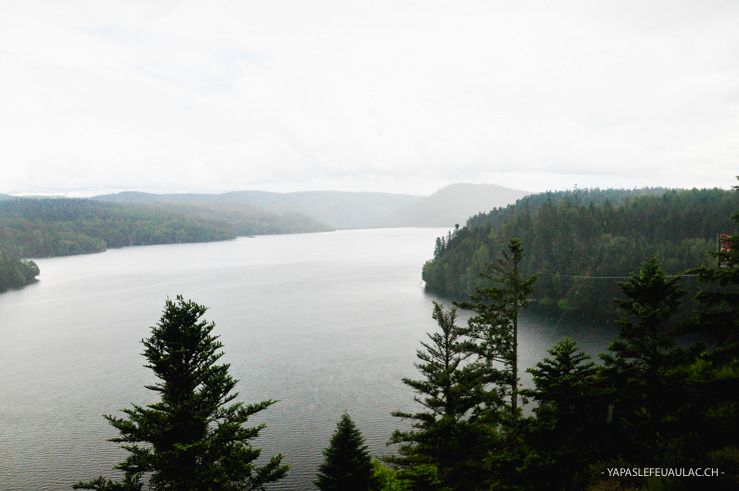Que voir en Lorraine? Le lac de Pierre Percée