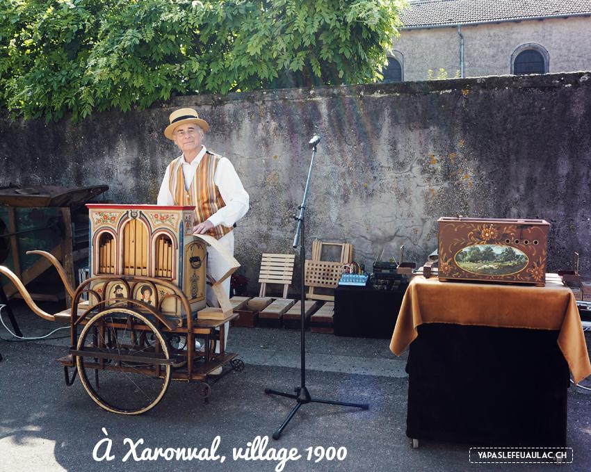 Xaronval dans les Vosges - brocante et métiers d'antan