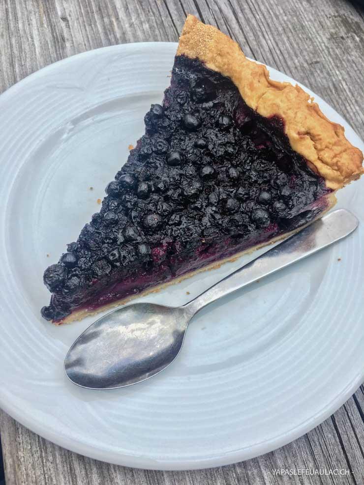 Où manger une tarte aux myrtilles dans les Vosges? Pause à l'auberge des Trois Fours entre col de la Schlucht et Hohneck