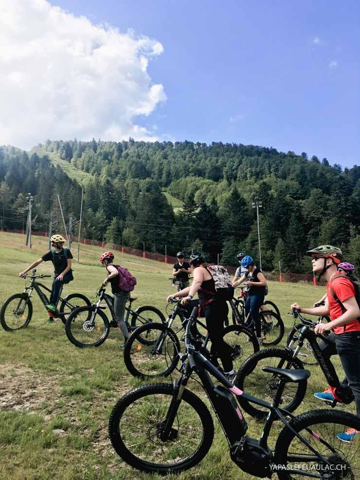 Bikepark VTT électrique La Bresse Hohneck Station - Massif des Vosges