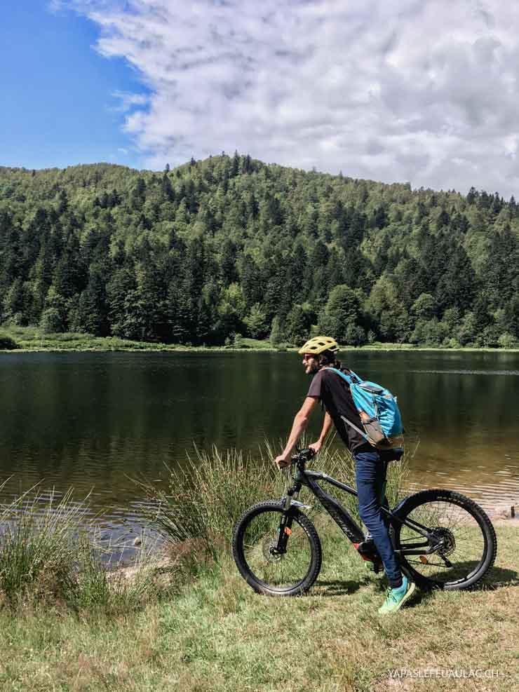 Au Lac de Blanchemer près de La Bresse