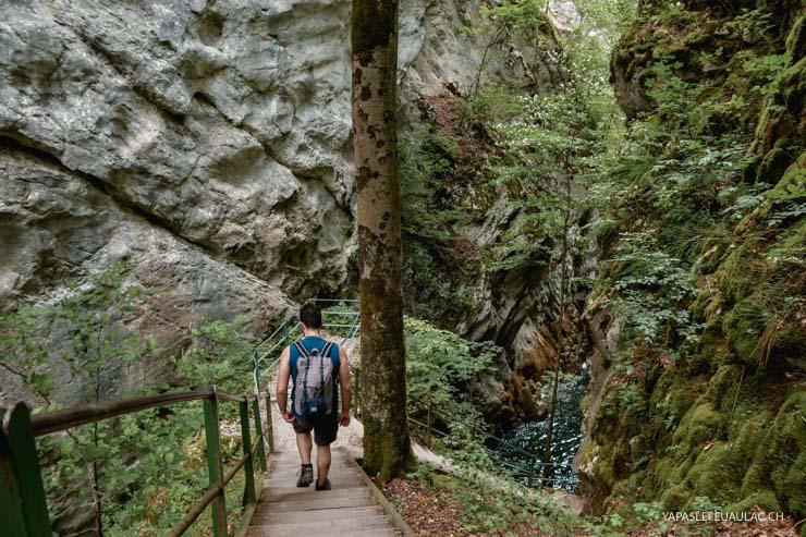 Rando à ne pas manquer à Neuchâtel (Suisse), les gorges de l'Areuse