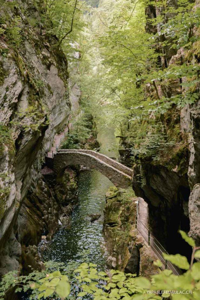 Balade à Neuchâtel (Suisse) - Les gorges de l'Areuse