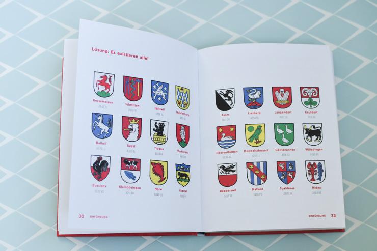 Héraldique et animaux en Suisse allemande. Un livre sur les noms de communes en Suisse allemande