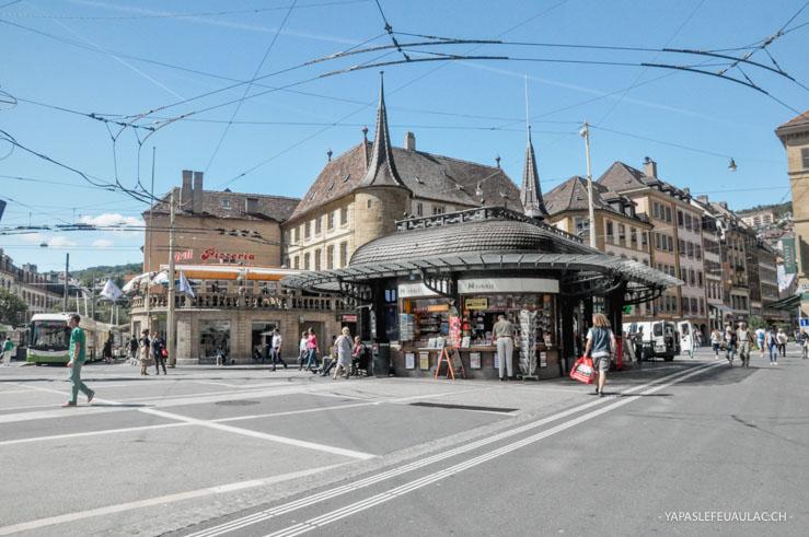La Place Pury - centre de la ville