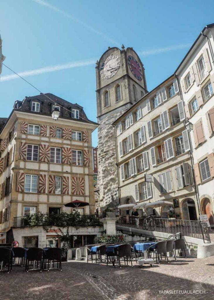 City Guide pour découvrir la ville suisse de Neuchâtel sur le blog Yapaslefeuaulac.ch