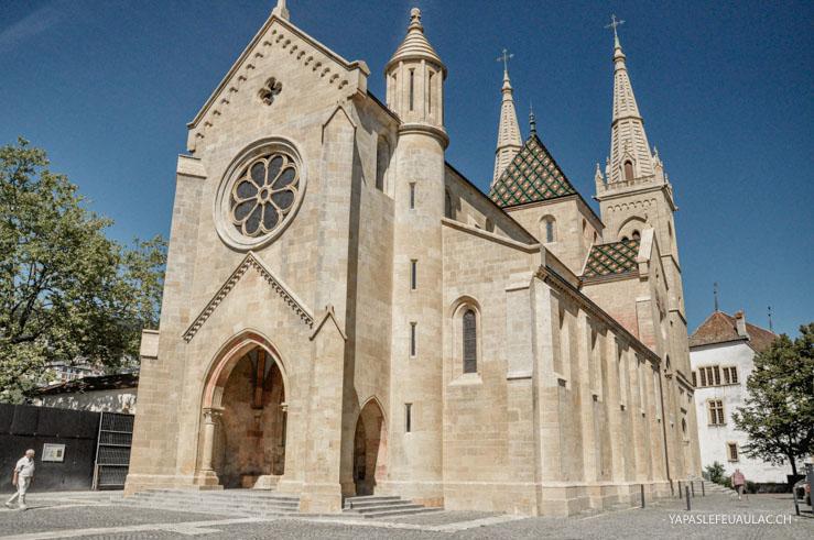 La Collégiale, église protestante