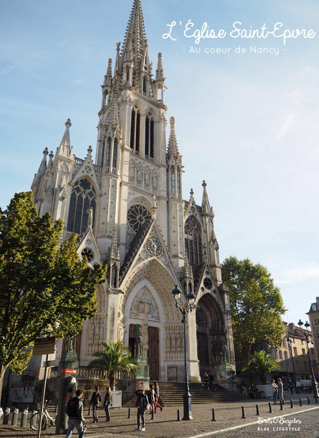 L'Eglise Saint-Epvre à Nancy - un week-end en Lorraine
