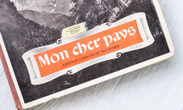Album Vignettes suchard mon cher pays