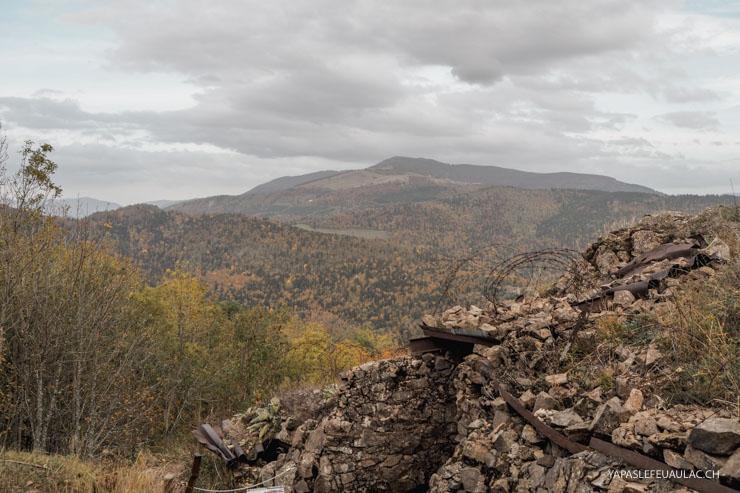 Sur le Hartmannswillerkopf en Alsace