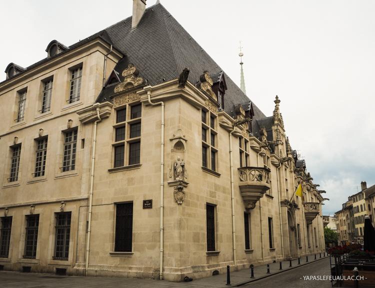 Le Palais des Ducs de Lorraine à Nancy