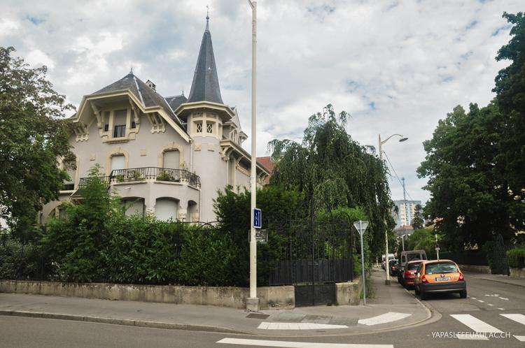 Que voir à Nancy autour de l'Art Nouveau: Le quartier de Saurupt, ou parc Saurupt