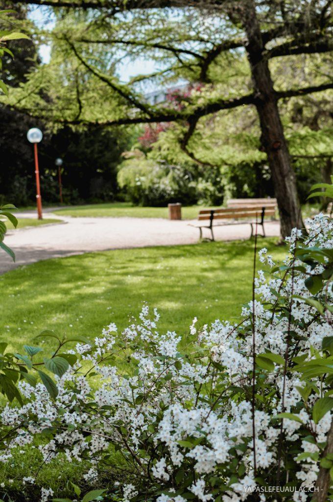 Le Parc Sainte-Marie à Nancy