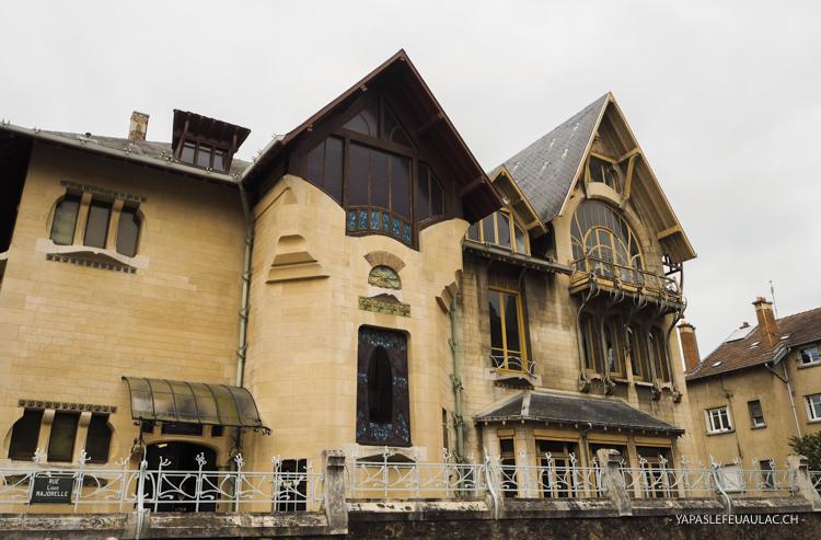 La Villa Majorelle à Nancy a réouvert ses portes au public après sa restauration