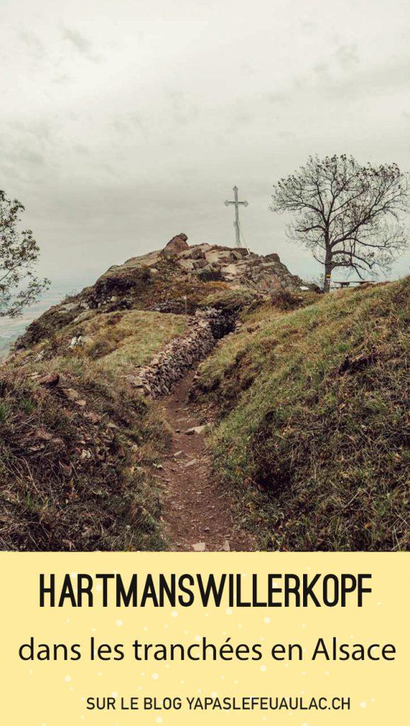 Je vous emmène sur un site passionnant en Alsace, le massif du Hartmannswillerkopf, lieu de mémoire de la Première guerre mondiale. En gros? On va se balader dans des tranchées tout en prenant une bonne leçon d'histoire dans la tronche
