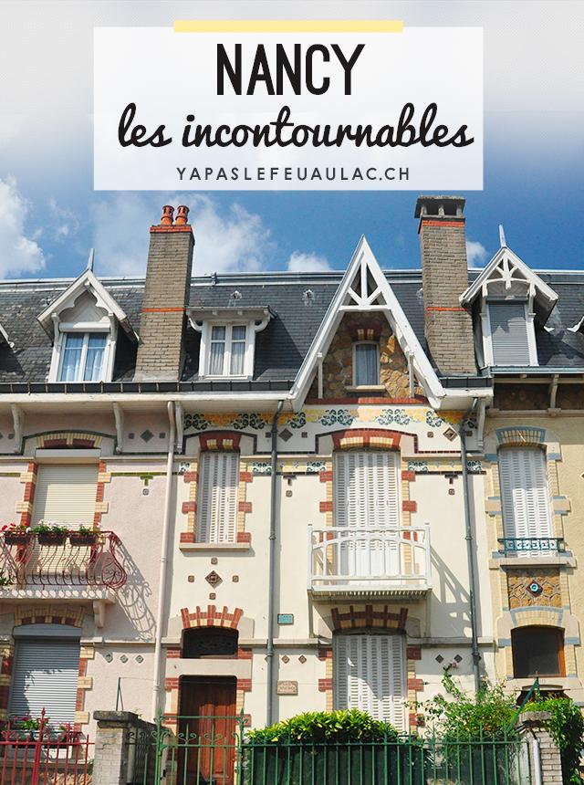 Les choses à ne pas manquer à Nancy, belle ville de Lorraine, avec une vidéo pour se mettre dans l'ambiance. Voilà une bonne idée de destination pour un week-end en France!