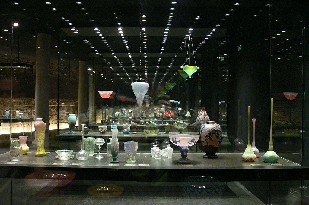Patrimoine de l'art verrier en Lorraine, la collection des Frères Daum au Musées des Beaux Arts de Nancy