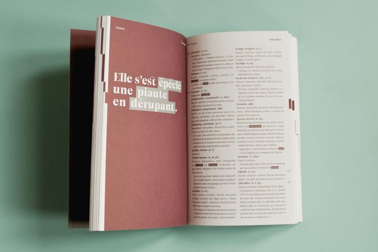 Le Dico romand - Dictionnaire de mots suisses de l'ECAL