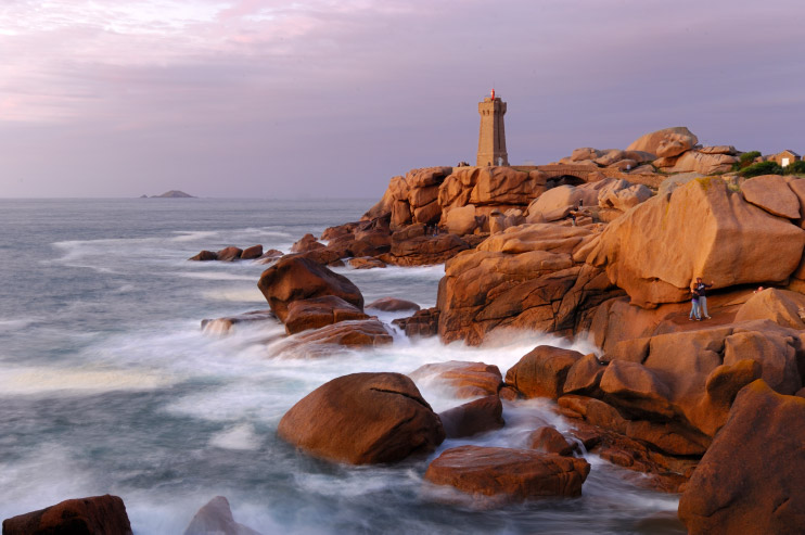 Voyage en France: ma wishlist d'envie, avec la Bretagne, qui fait rêver avec ses paysages, comme ici Ploumanac