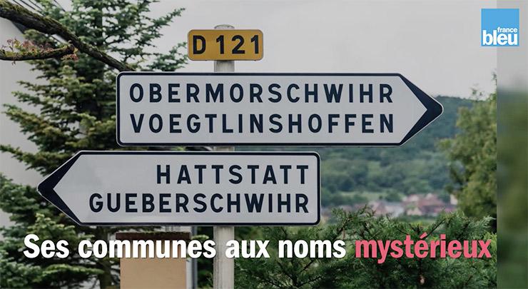 Typiquement alsacien: les noms des communes difficiles à prononcer (et à mémoriser)