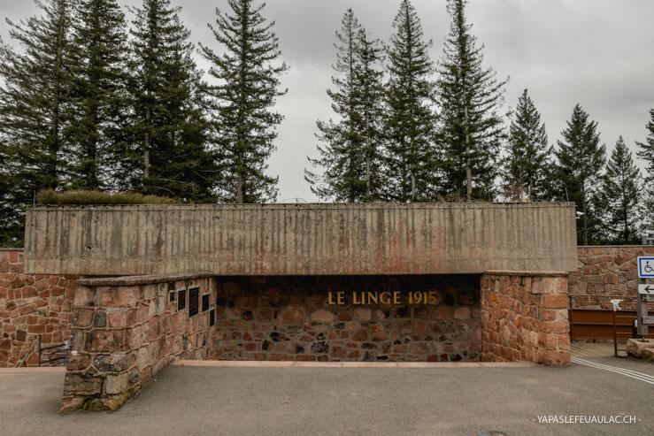 Mémorial du Linge - sur le blog Yapaslefeuaulac.ch basé à Mulhouse