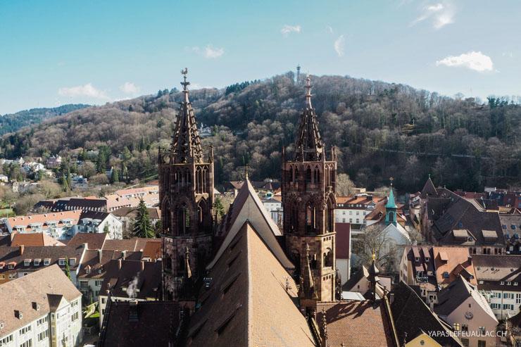 Visiter Freiburg im Breisgau: 10 choses à faire dans la ville allemande sur le blog voyage Yapaslefeuaulac.ch