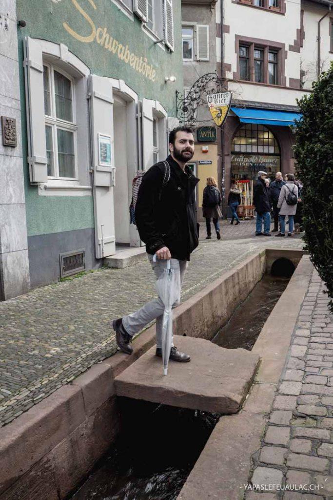 Visiter Freiburg im Breisgau: attention de ne pas tomber dans un Bächle!